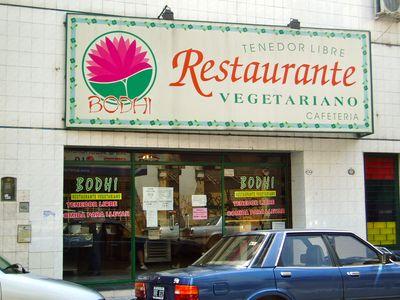 Bodhi vegetarian restaurant Buenos Aires